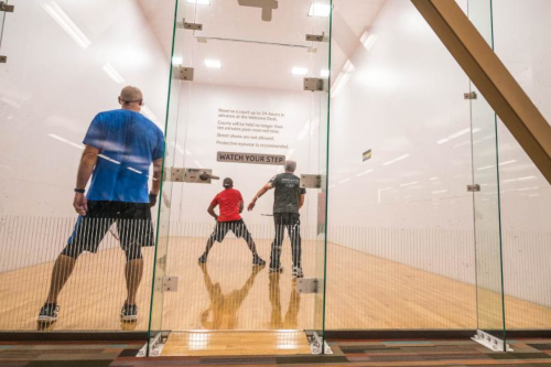Racquetball and Handball